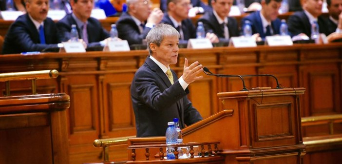 Dacian Ciolos in Parlament