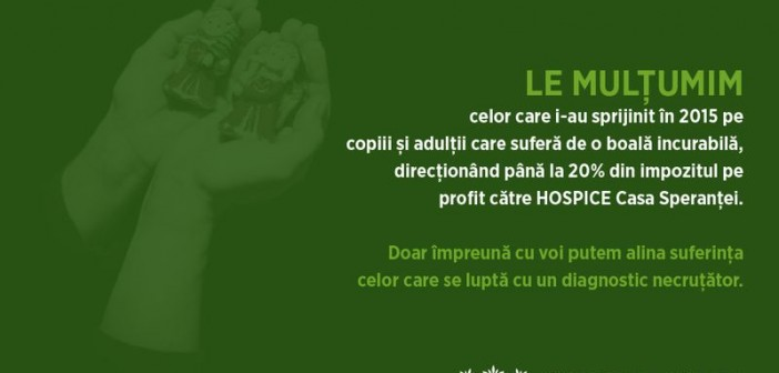 Campania 20 la suta HOSPICE
