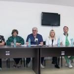 VIDEO: Transfuzie intrauterina si extirparea unui fibrom uterin urias, pe cale laparoscopica, efectuate, in premiera, la Sectia de Obstetrica- Ginecologie a Spitalului Municipal Timisoara