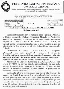 scrisoare deschisa SANITAS 1