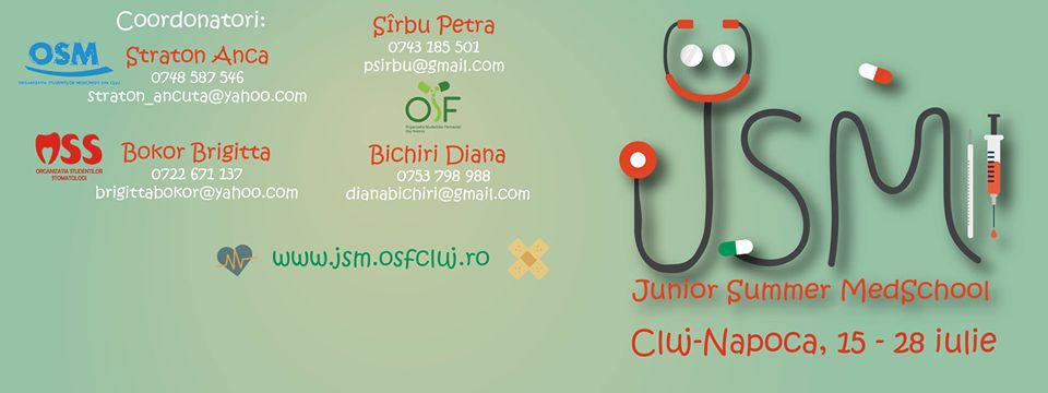 Junior Summer MedSchool - anunt