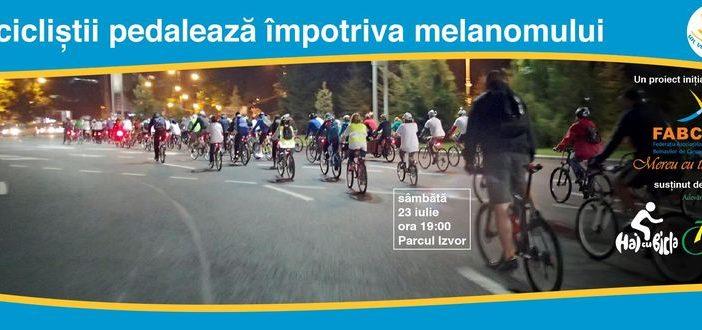 Marsul Biciclistilor impotriva melanomului - editia 2016