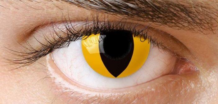 Atentie, cumparati lentilele de contact de Halloween doar de la distribuitori autorizati!