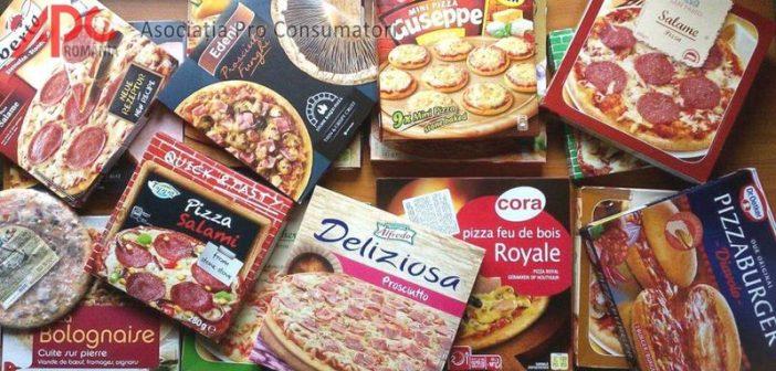APC: Pizza cu piele de porc, aroma de fum si 15 aditivi alimentari