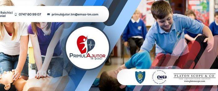 Studentii de la Universitatea de Medicina din Timisoara vor sa introduca cursuri de prim ajutor in scoli