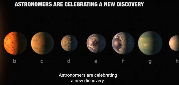Desoperirea deceniului NASA: s-au gasit 7 planete de marimea Pamantului care orbiteaza aceeasi stea intr-o zona locuibila (VIDEO)