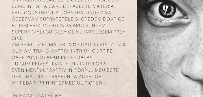 """Expozitie de pictura dedicata persoanelor cu distonie – """"Captiv in corpul meu"""""""