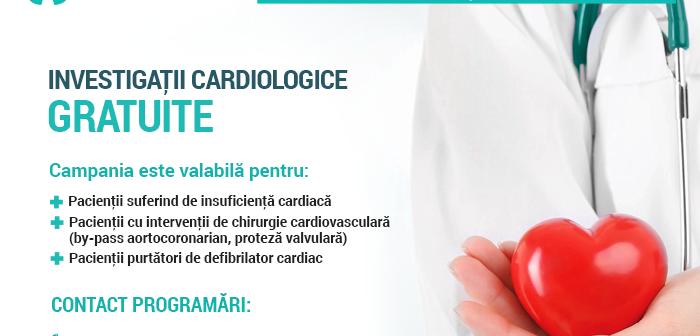 Persoanele cu boli cronice cardiovasculare beneficiază gratuit de evaluarea stării de sănătate la Clinicco Brașov
