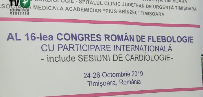 Al 16-lea Congres Roman de Flebologie
